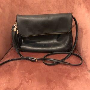 Black handbag from Nordstrom